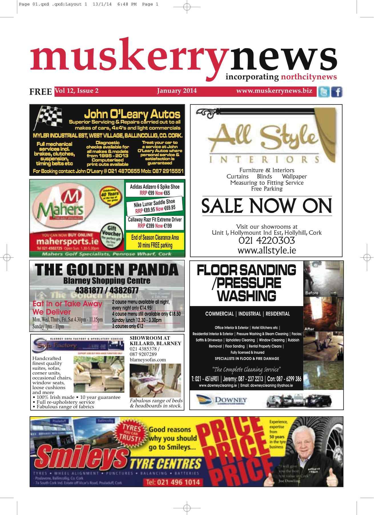 Muskerry News January 2014