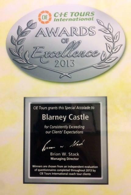 Blarney Castle award 1558538_10151871363022117_160453036_n
