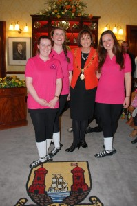 4 Family 1b 2 - Lord Mayor with Christina Mary and Elena Buckley