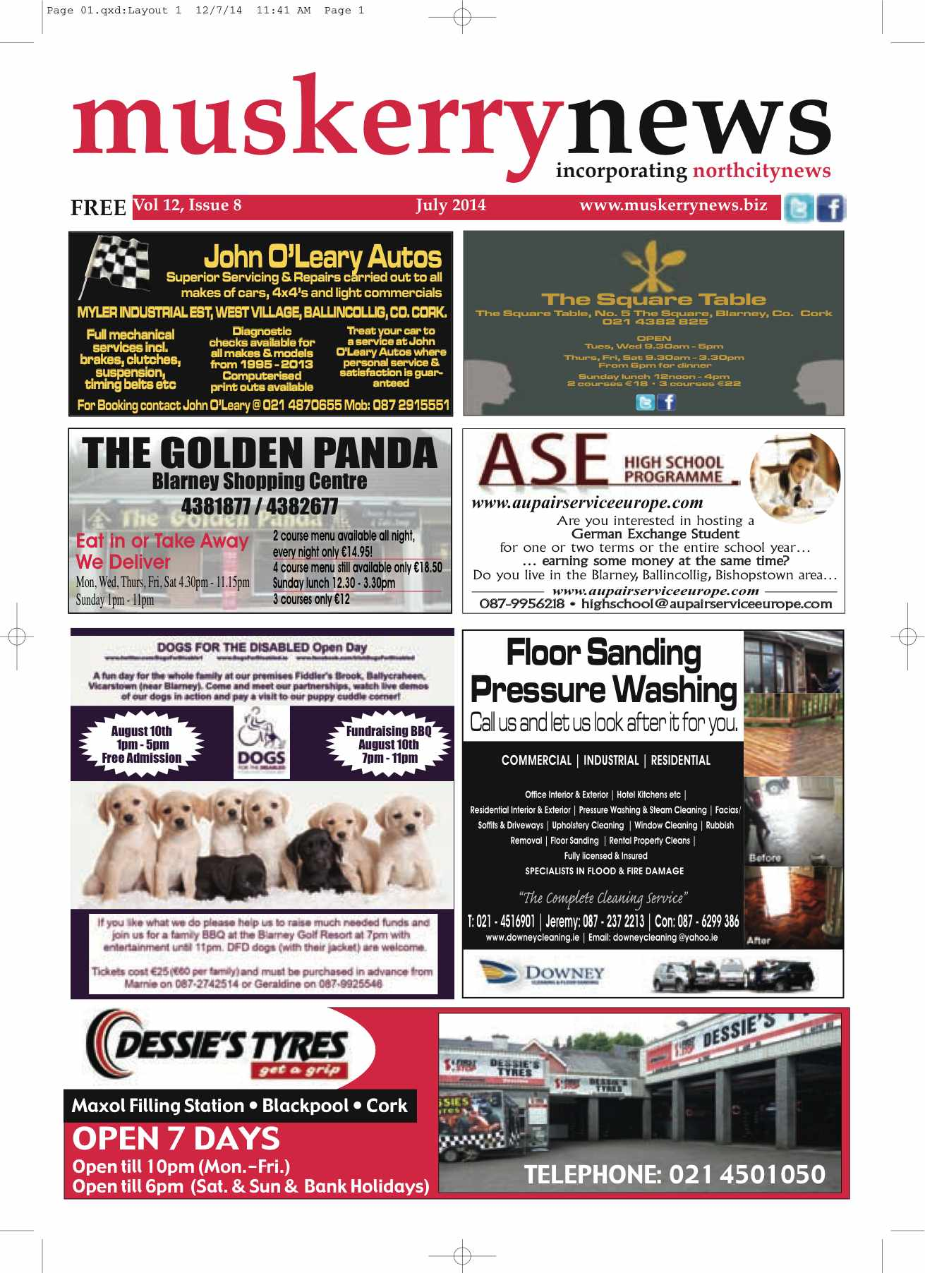 Muskerry News July 2014
