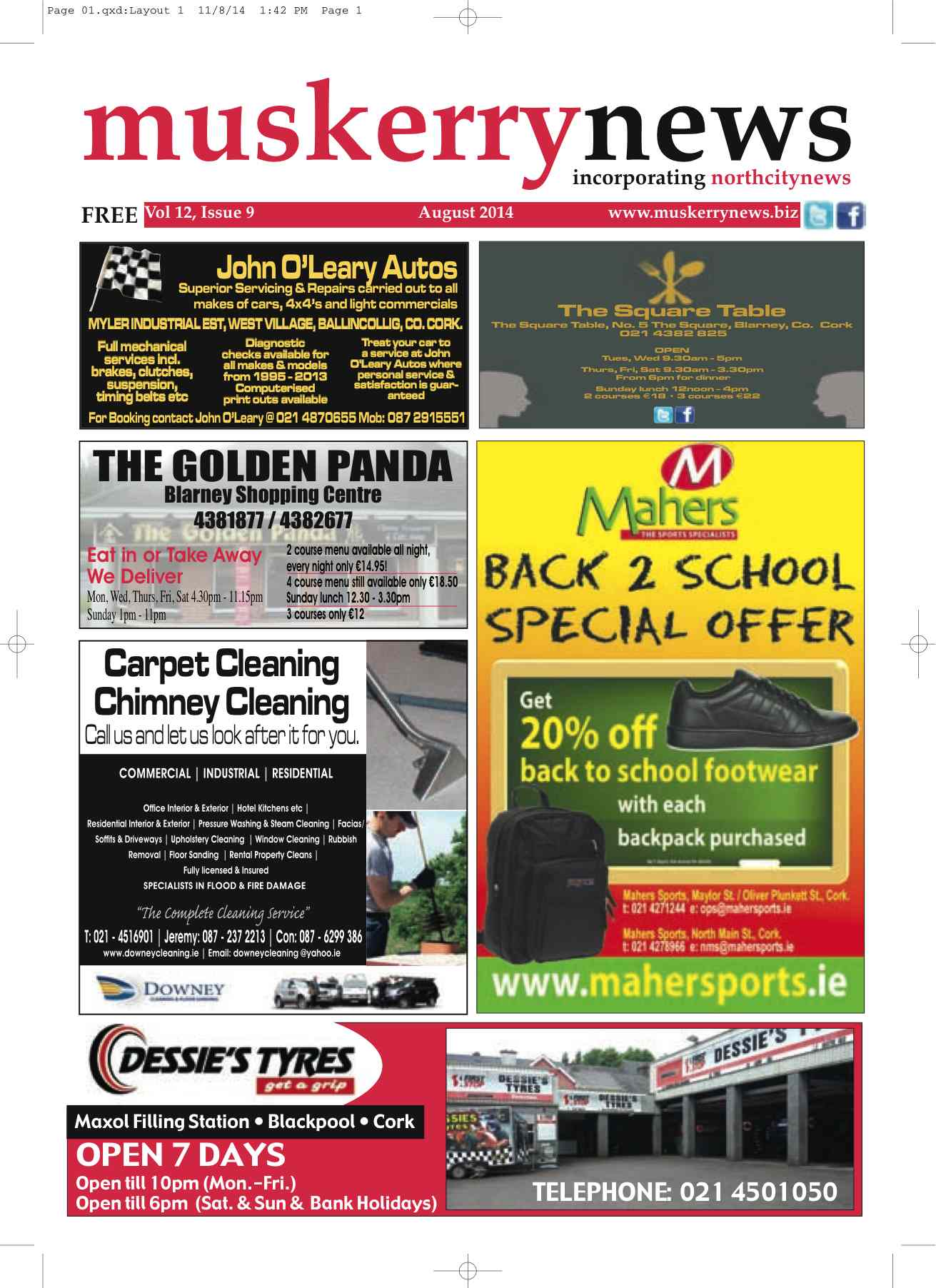 Muskerry News August 2014