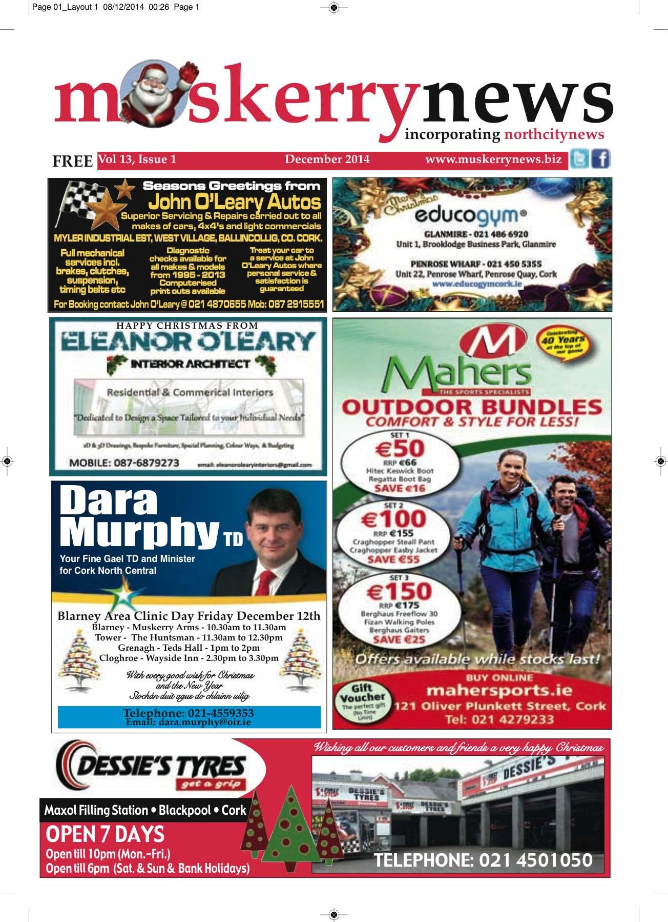 Muskerry News December 2014