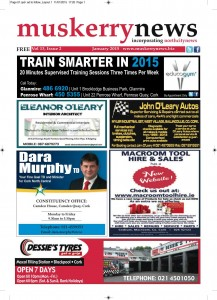 Muskerry News Jan 2015