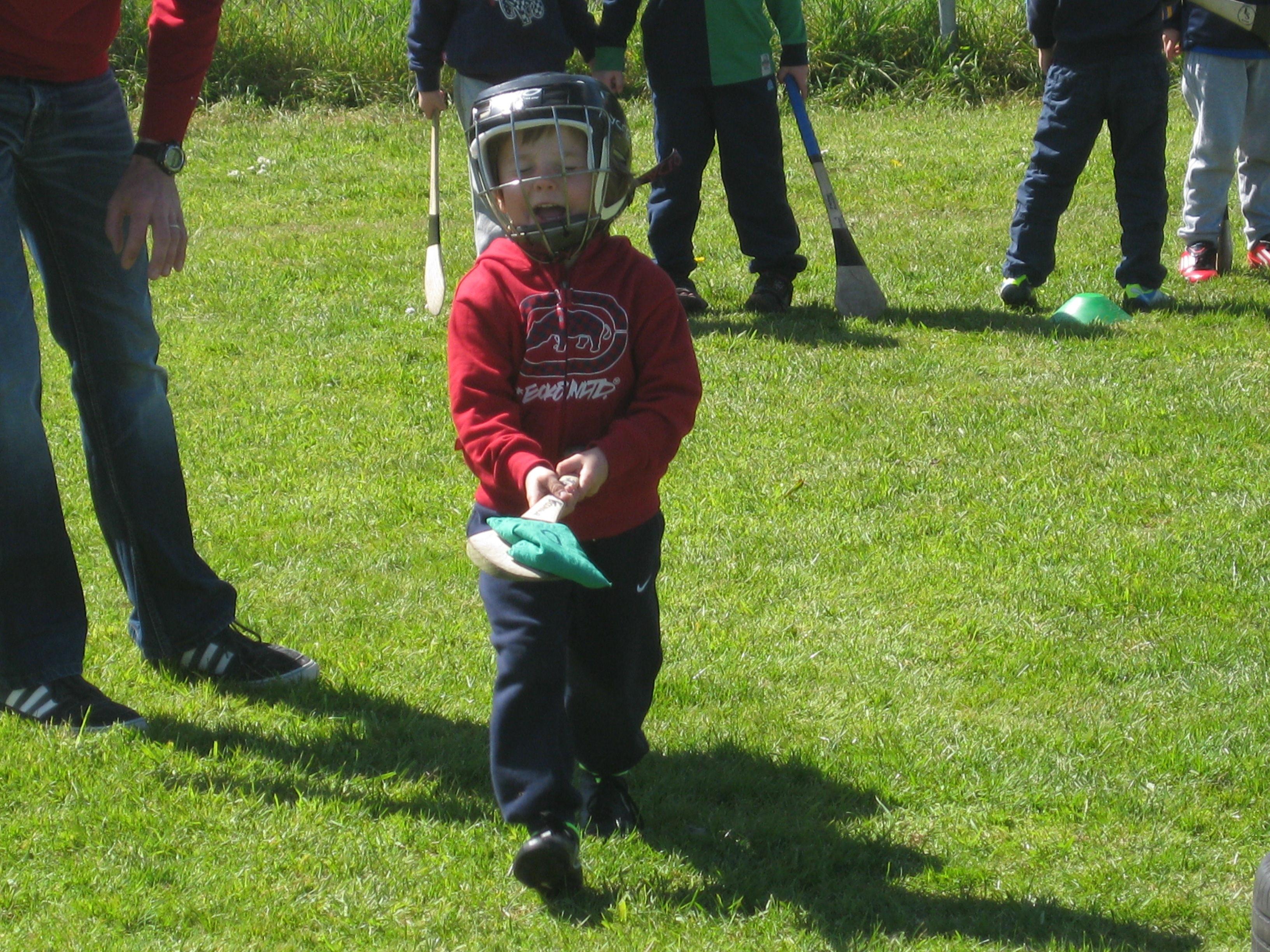 U6 in action funhurling