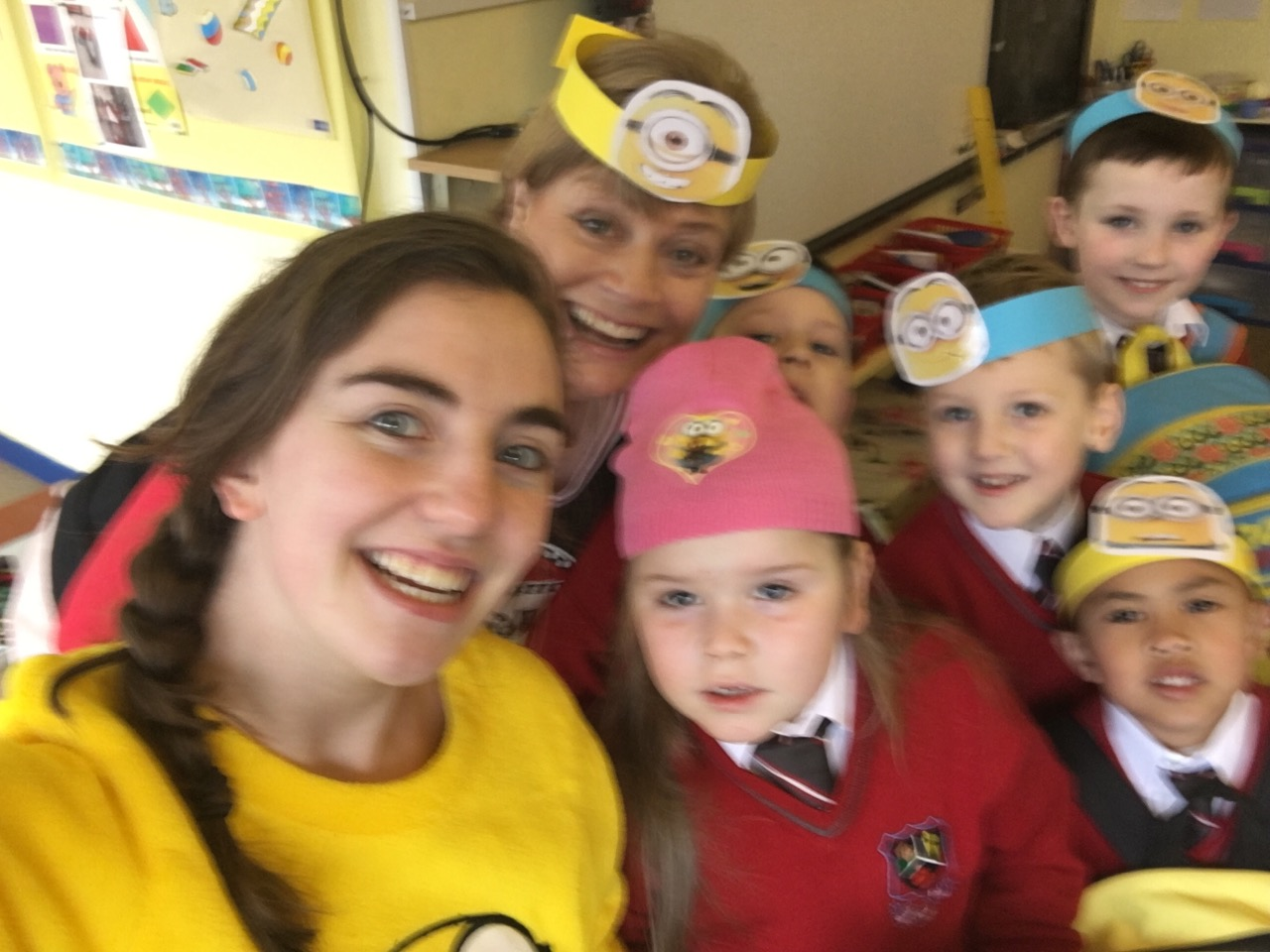 Minion Selfie in Ms O' Donovan