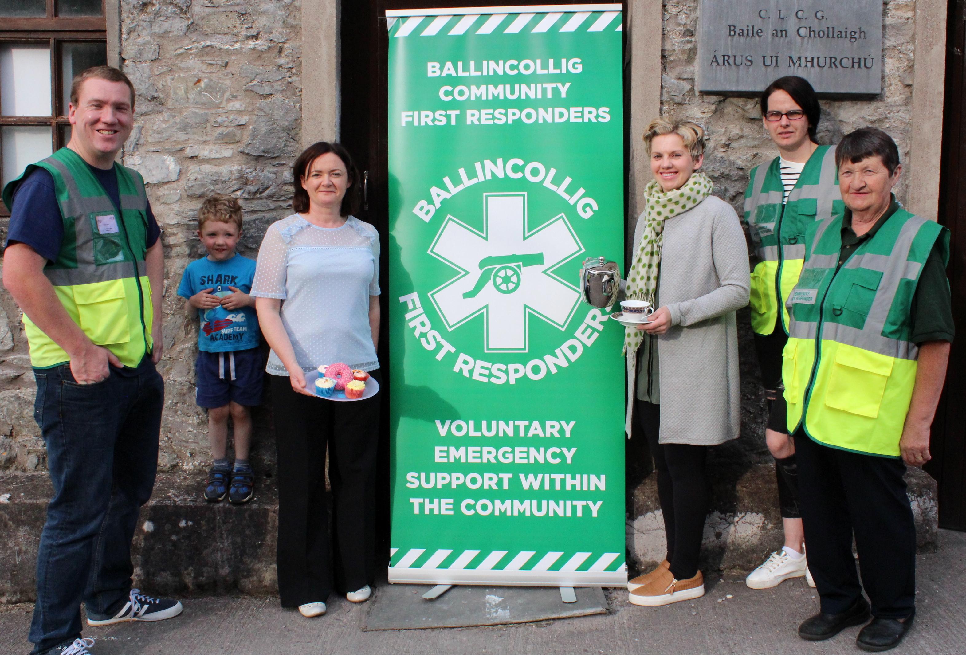 Ballincollig Community First Responders Fundraiser Photo