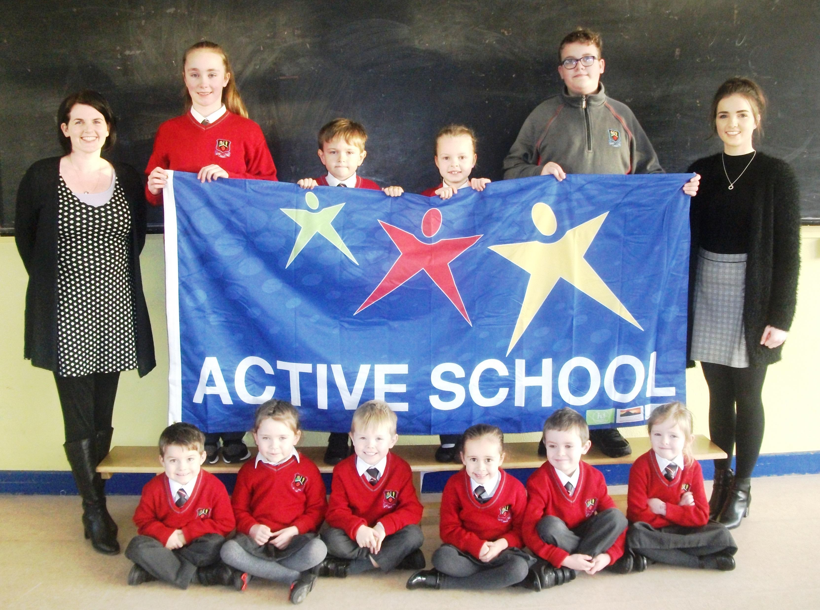 Active school flag 003