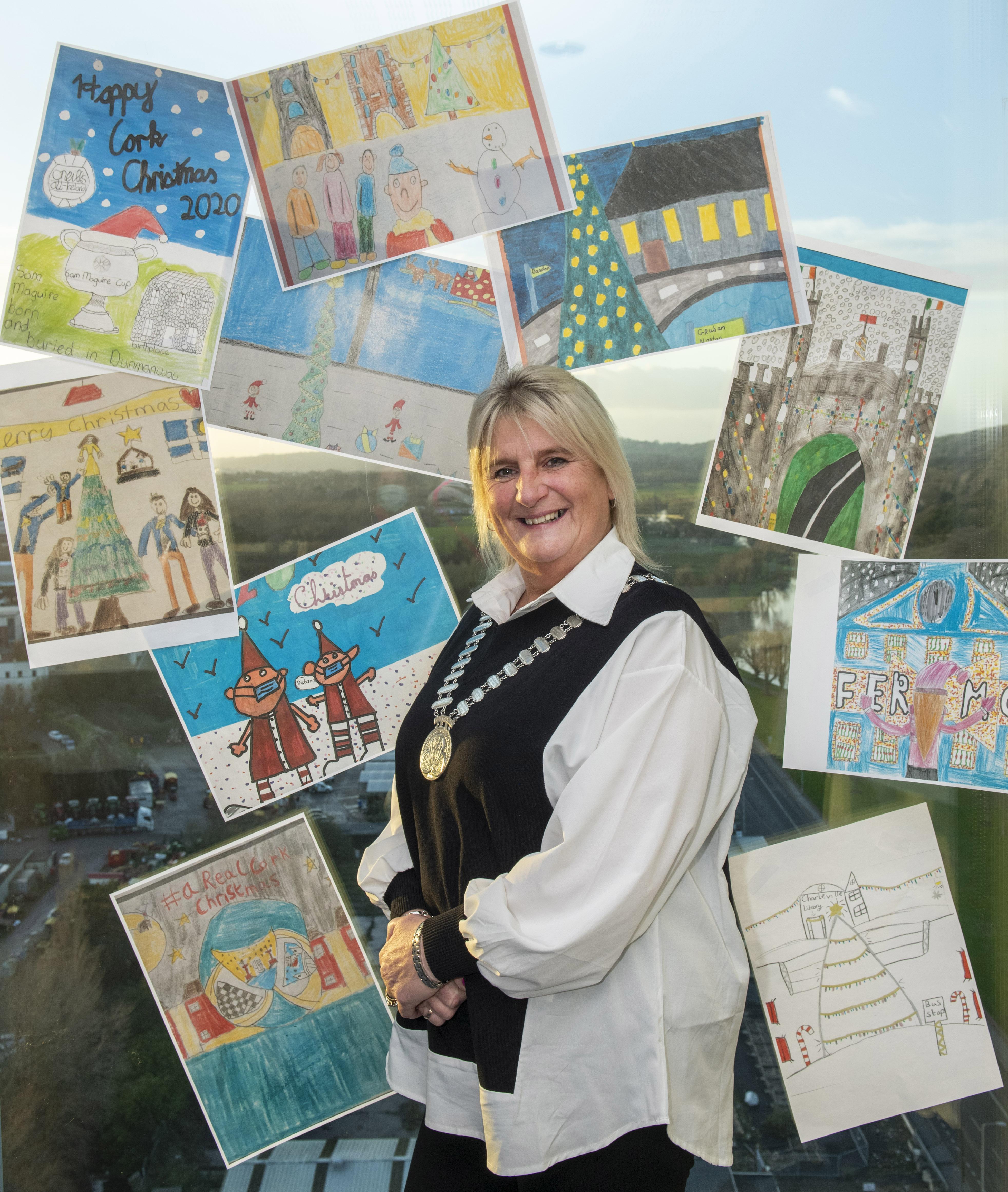Mayors Christmas Postcard Competition