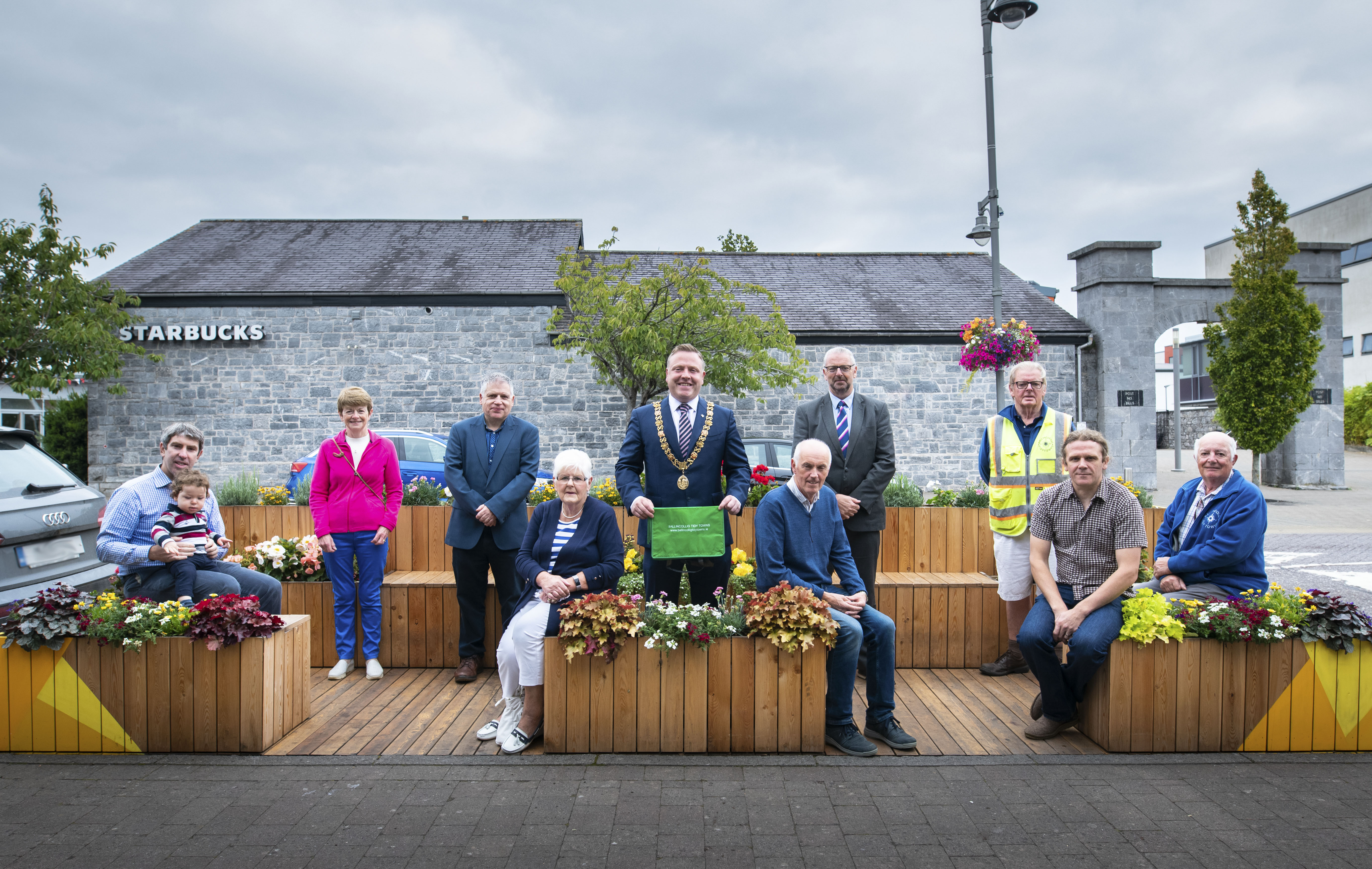 Lord Mayor of Cork Cllr. Colm Kelleher at the Launch of one of 8